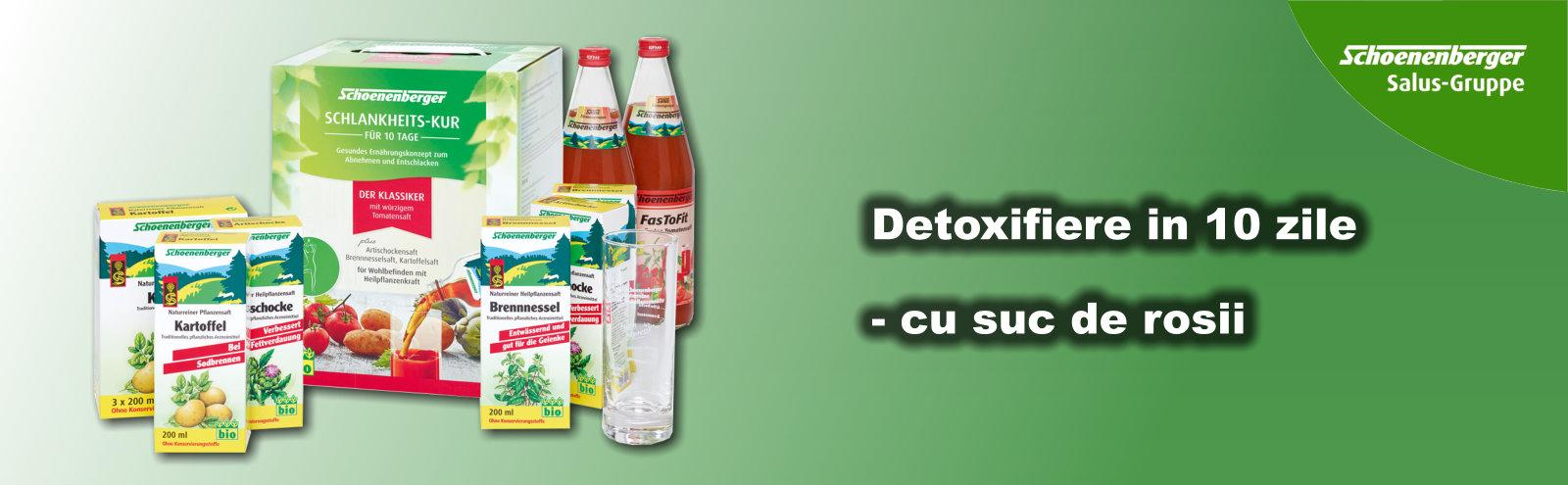 Cură de detoxifiere Schoenenberger FasToFit (suc de roșii) [Pachet Dublu]