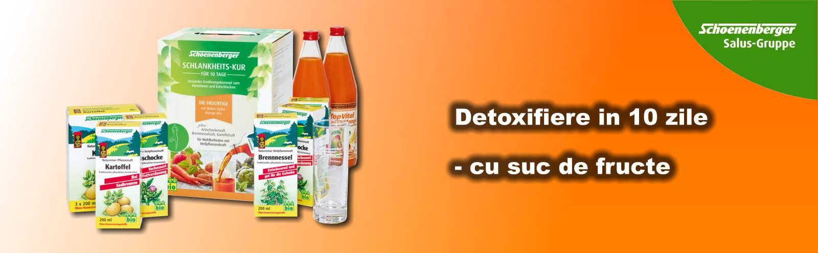 Cură de detoxifiere Schoenenberger TopVital (mango) [Pachet Dublu]
